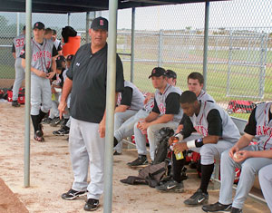 Coach Fratto with Raiders